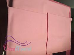 Carpeta rosada niña