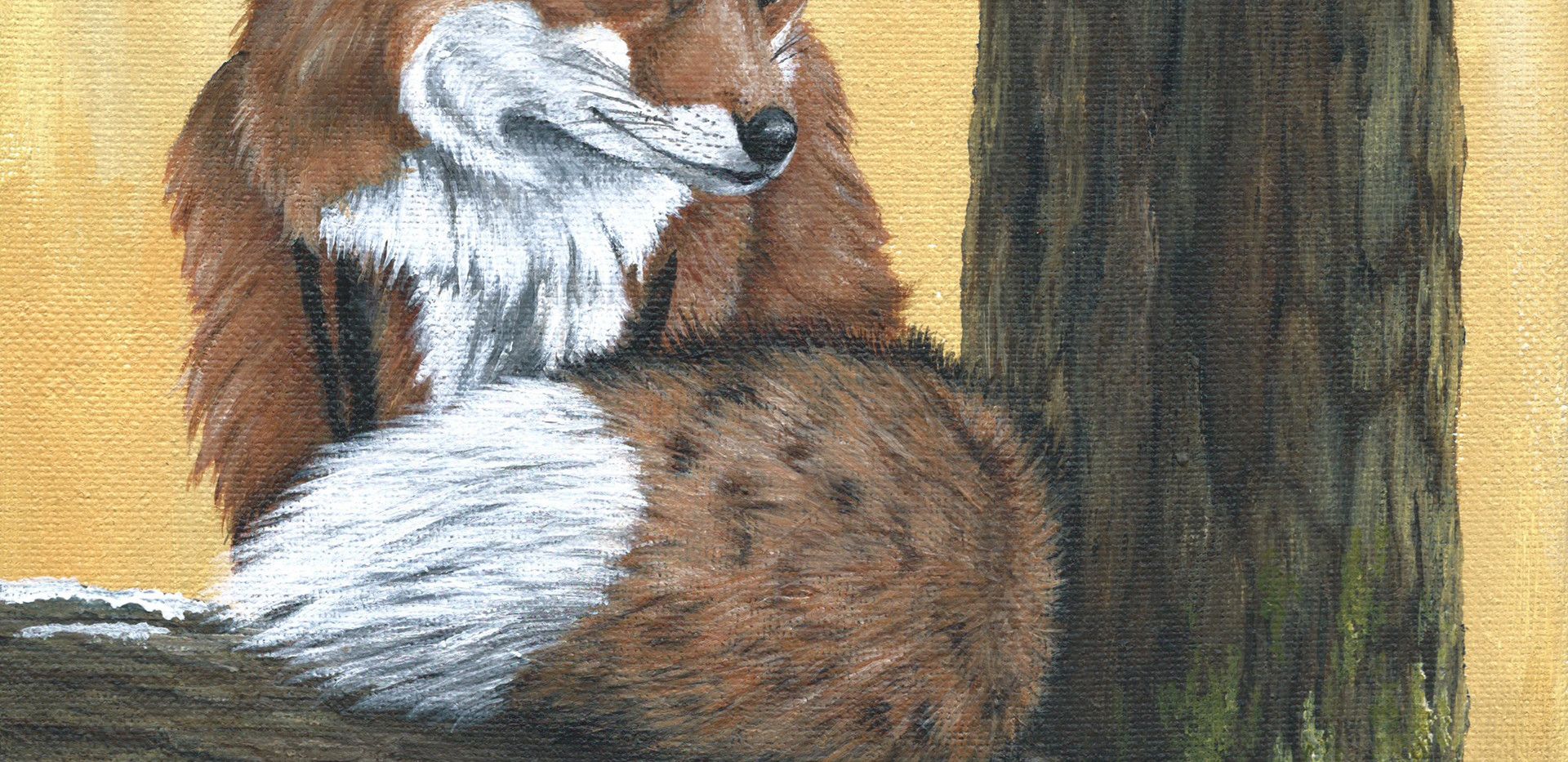 Red Fox _ Blue Wolf Design