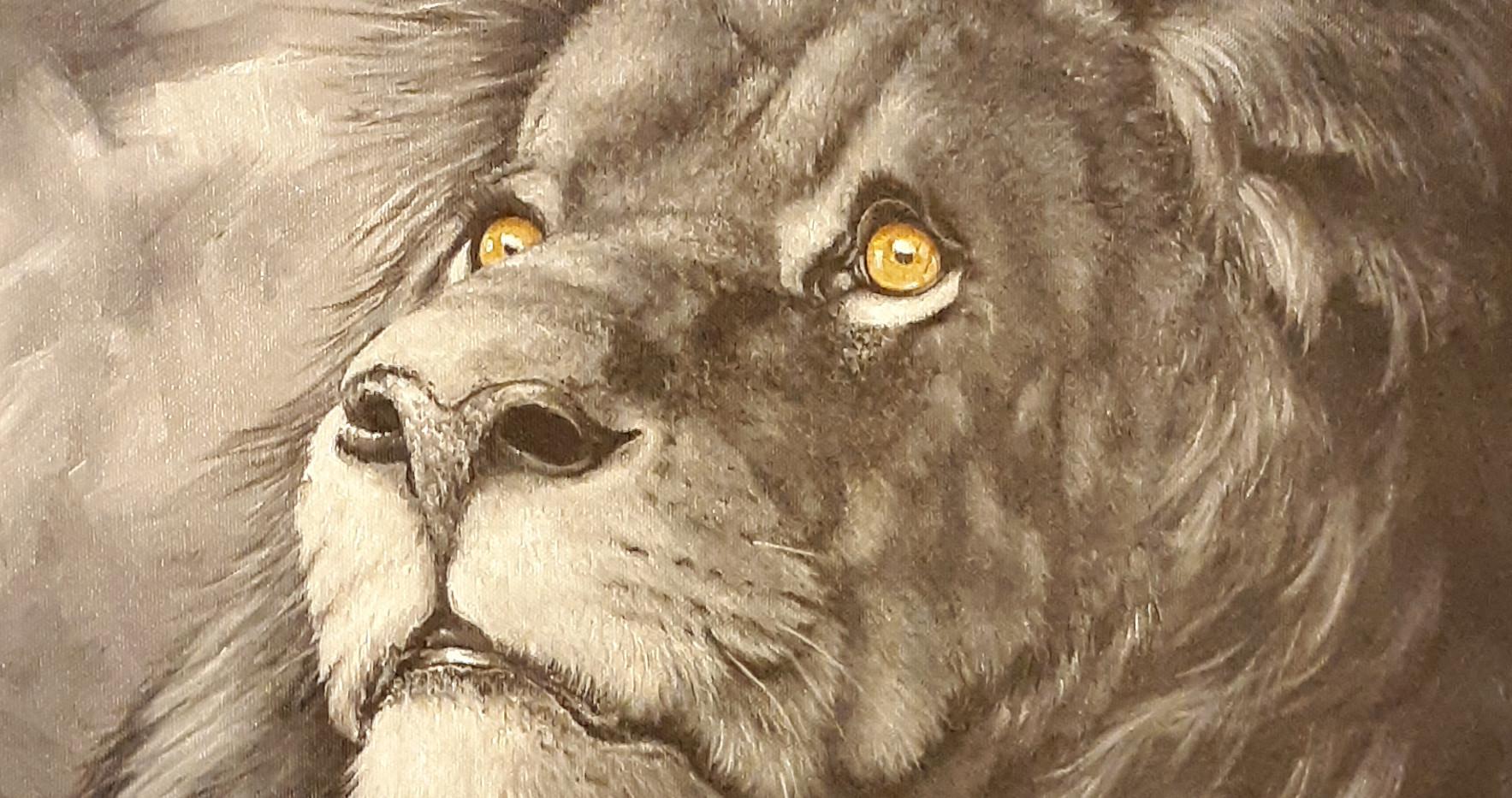 Lion_ Blue Wolf Design