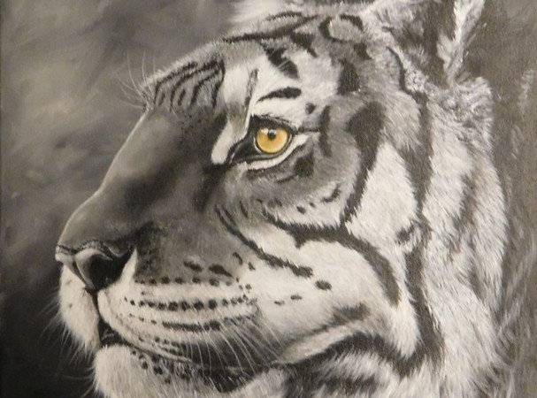 Tiger Thoughts - Blue Wolf Design