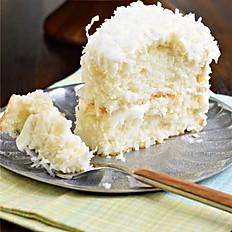 GLUTEN-FREE COCONUT CAKE (per slice)