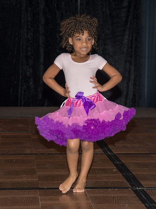 Pink and Purple tutu