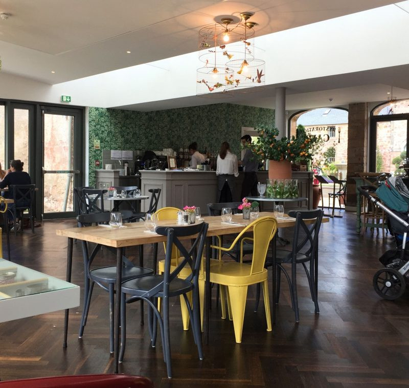 restoration cafe interioir