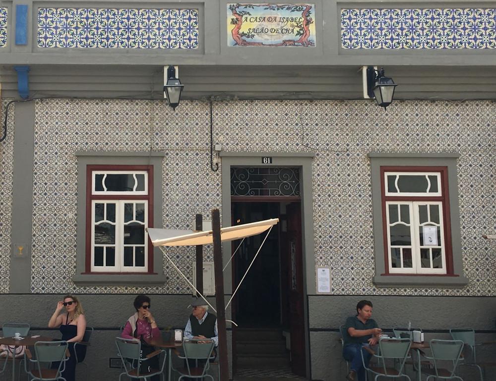 local cafe portico