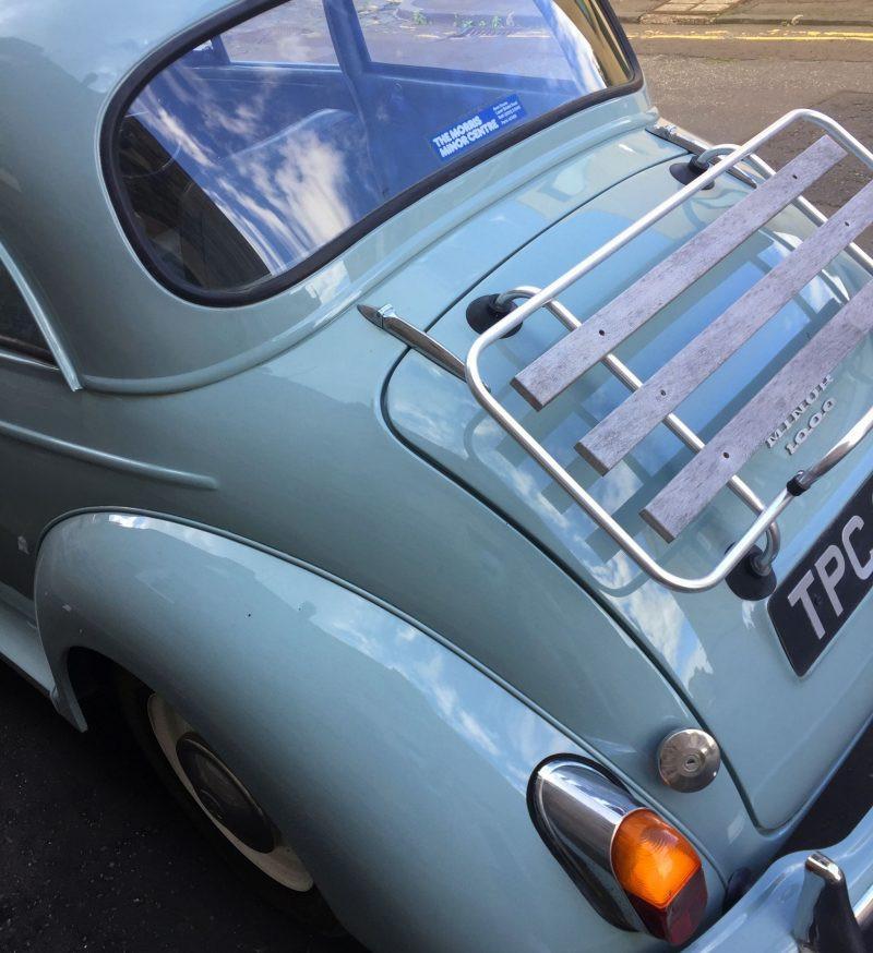 Vintage car Edinburgh