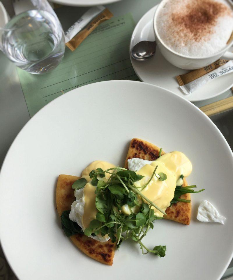 eggs florentine dalkeith