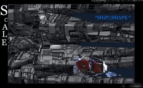Scale Ship shape