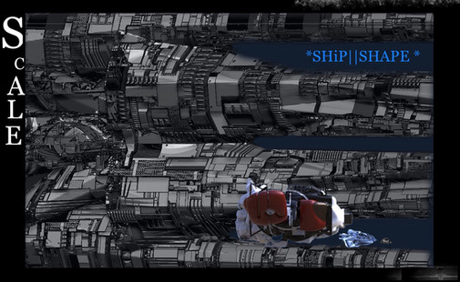Scale Ship shape
