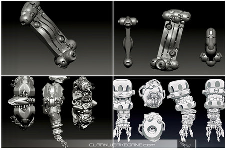 Gilgamech limb and tech design