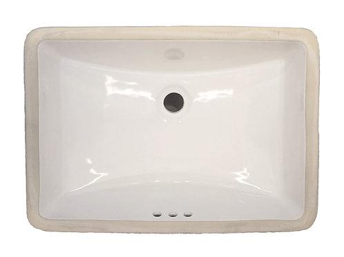 Sink - Ceramic Vanity Rectangular