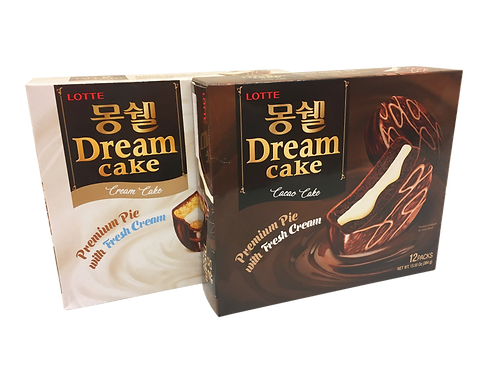 Lotte Dream Cake 몽쉘통통