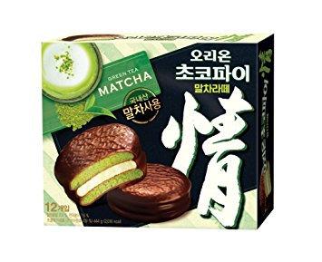 Orion Matcha Choco Pie