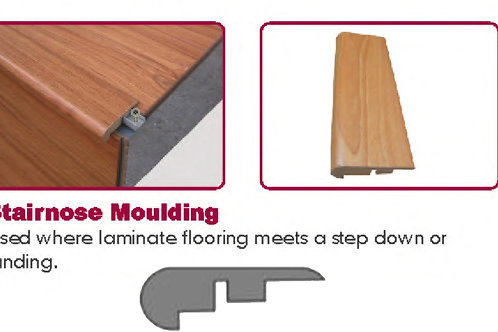 Laminate Trim - Stair Nose - Matching Color