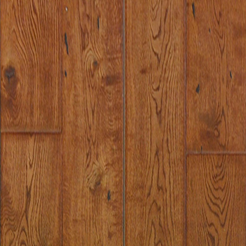 "3/4"" Solid Hardwood - 6"" Americana Oak - Caramel"