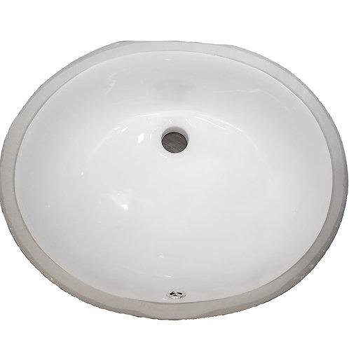 Sink - Ceramic Vanity Oval