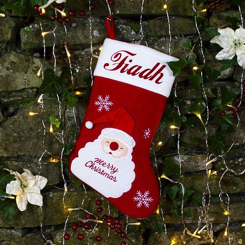 Santa Merry Christmas Stocking