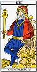 l'empereur tarot de marseille
