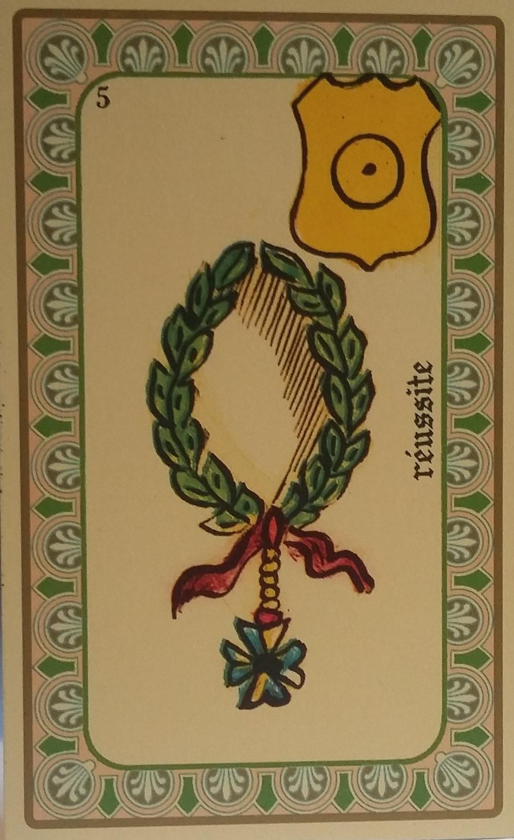 Oracle de Belline carte 5 la réussite