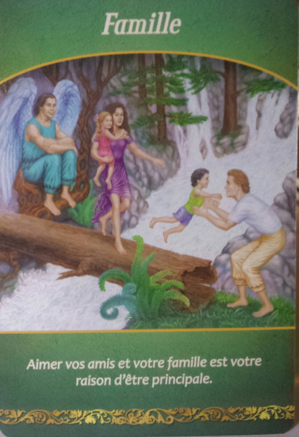 jeu le sens de la vie , la famille , doreen virtue, le monde de kokolou .com