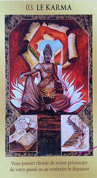 le jeu de votre destin, carte 3, le karma, lemondedekokolou.com