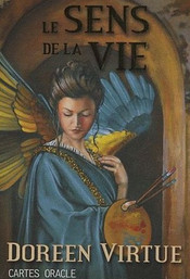 le sens de la vie - jeu carte oracle - doreen virtue
