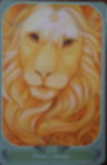 oracle du messager, carte 14, prenez courage