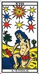 l'étoile tarot de marseille
