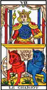 le chariot tarot de marseille
