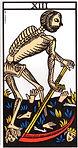 la mort tarot de marseille