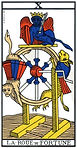 la roue de fortune tarot de marseille
