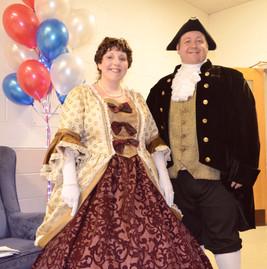 Mr. & Mrs. George Washington 2018