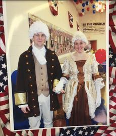 George & Martha Washington 2017