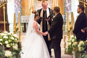 Pastor Bill with Bride & Groom