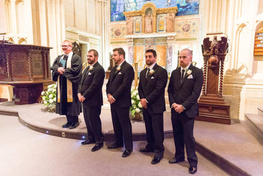 Pastor Bill Ingraham & Groomsmen