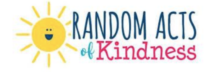 Outreach | Random Acts of Kindness | September 2020