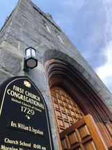 First Church bell tower