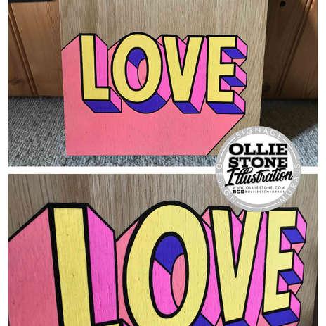 Love sign, Eastbourne