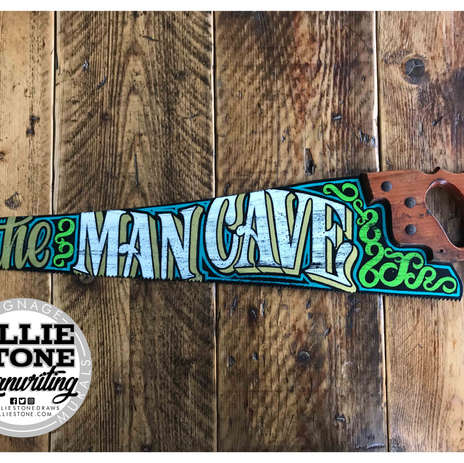 Man Cave Saw, Eastbourne