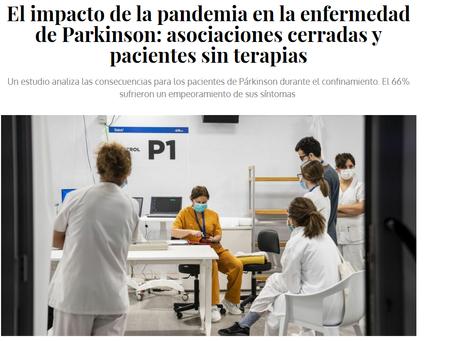 El impacto de la pandemia en la enfermedad de Parkinson