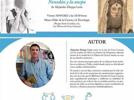 """Presentación del libro """"Nenedán y la Anepa"""""""