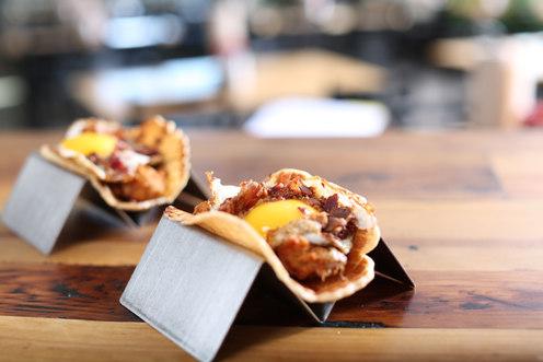 Chicken & Waffles - Happy Taco Bar