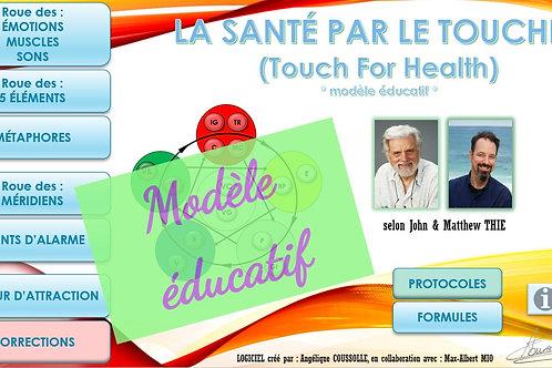 """LOGICIEL """"Santé par le Toucher"""" (modèle éducatif)"""