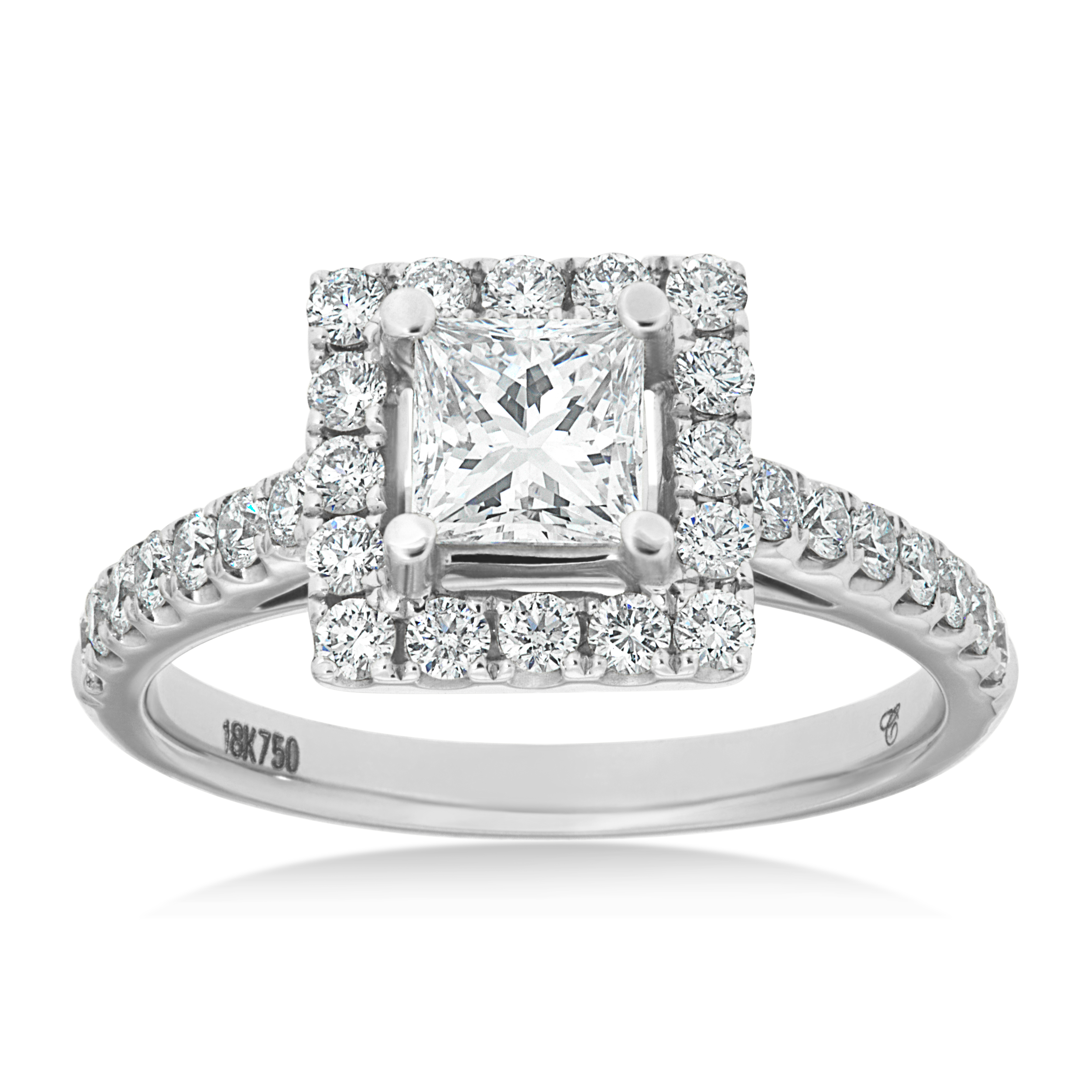 Princess Cut Halo