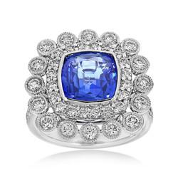 Ceylon Sapphire Dress Ring