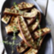 Japanese eggplant grilled Italian style!