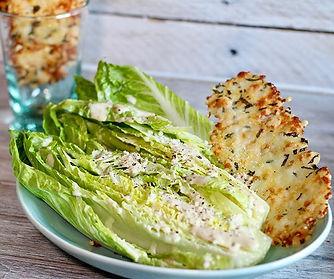 Caesar salad for dinner with _giadadelau