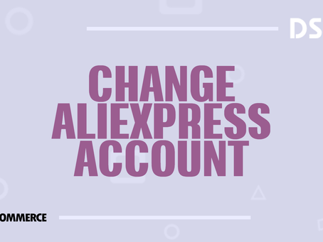 Change AliExpress account
