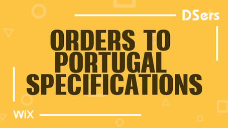Orders to Portugal specifications
