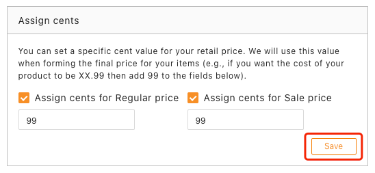 Pricing rules with Woo DSers - Save assign cents - Woo DSers