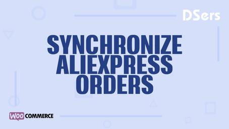 Synchronize AliExpress orders status